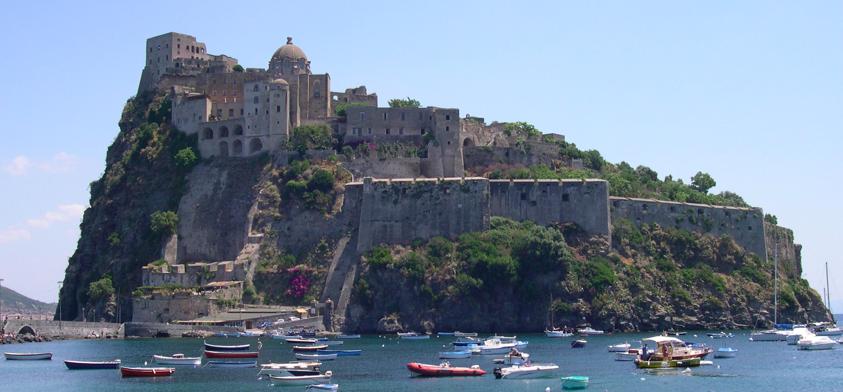 Italien |Amalfikusten- Ischia: Castello Aragonese