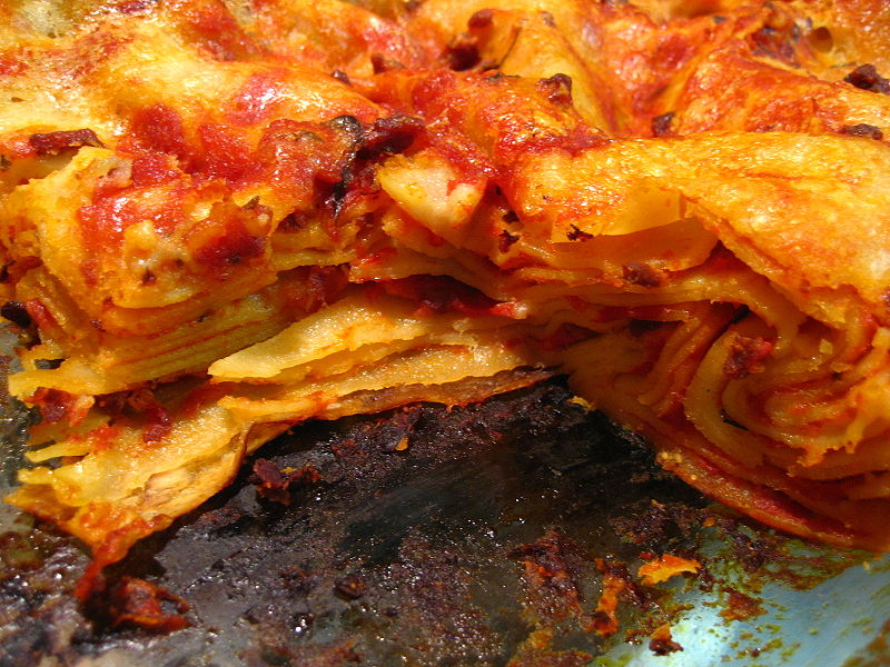 Italien | Bologna: mat- lasagne (lasagna)