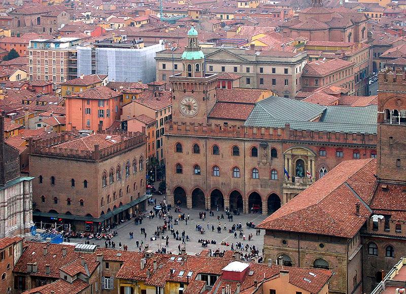 Italien | Bologna- Piazza Maggiore