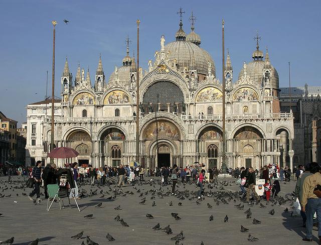 Bild på Venedig- Markusskyrkan